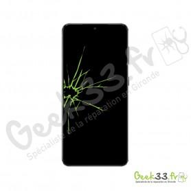 Réparation écran Samsung S21 G991F Vitre Oled chassis