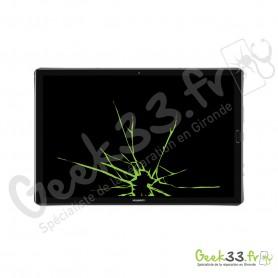 Réparation écran Huawei MediPad M5 10.8 vitre LED