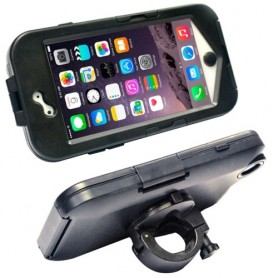 Support protection imperméable anti-chocs vélo / moto pour iPhone 6 Plus/6SPlus