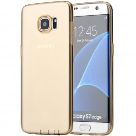 Coque Galaxy S7 Edge ROCK dos transparent or ultrathin TPU
