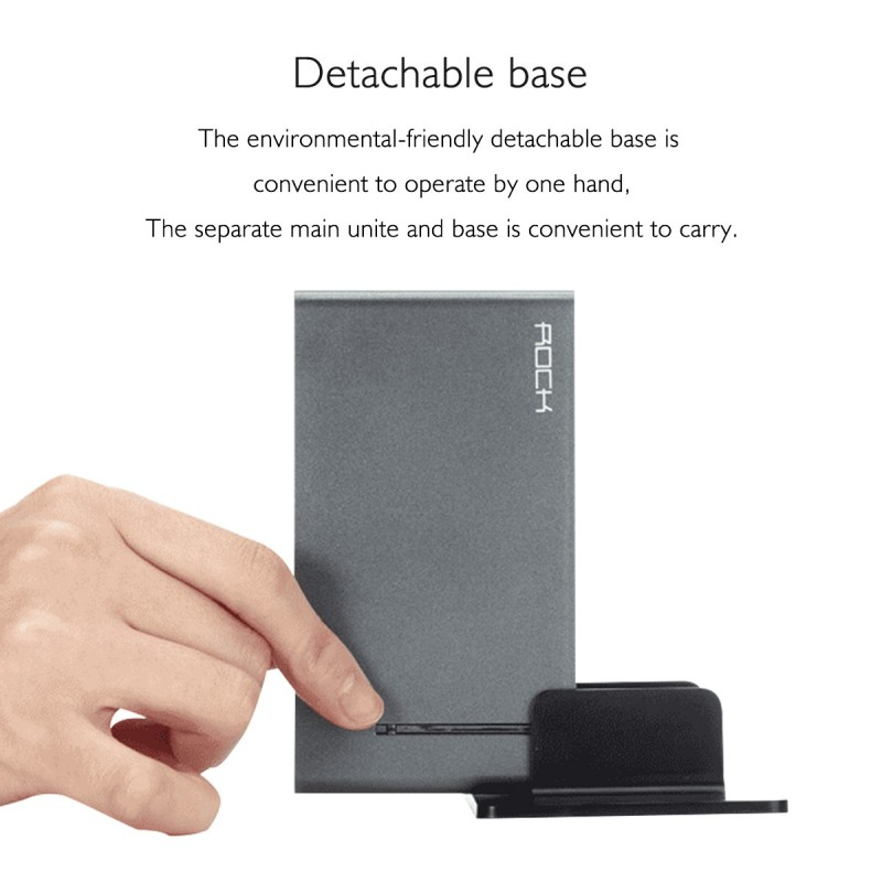 Dock USB ROCK 6 prises Blanc