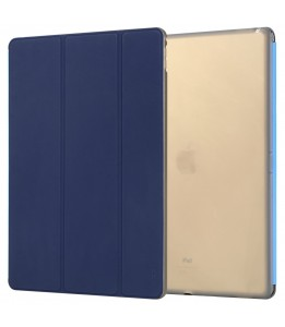 """Coque iPad Pro 12"""" ROCK avec rabat bleu Phantom"""