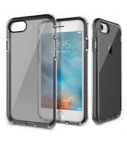 Coque iPhone 7/8 ROCK transparent noir  Guard Serie