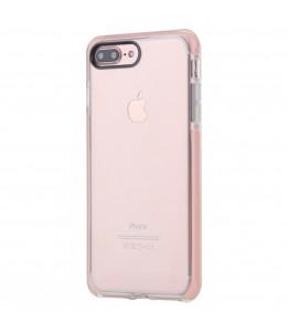 Coque iPhone 7 Plus / 8 Plus ROCK transparent rose Guard Serie
