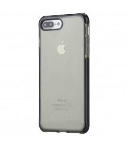 Coque iPhone 7 Plus / 8 Plus  ROCK transparent noir Guard Serie