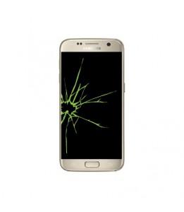Réparation Samsung Galaxy S7 SM-G930F vitre + écran LED