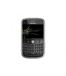 Réparation Blackberry Bold 9000 vitre + LCD