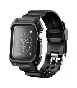 Bracelet sport anti-choc avec cadre pour Apple Watch 38mm