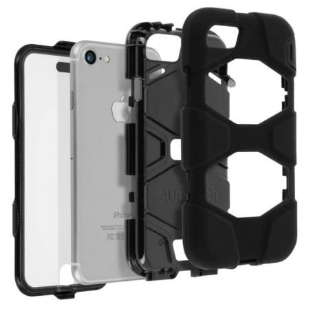 coque survivor all terrain military griffin noir apple iphone 7 plus 7s plus