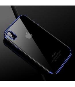 Coque iPhone X CAFELE TPU Protective Bleu