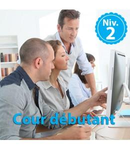 Ateliers informatiques - Débutants Niv 2 - 1h30 de cours
