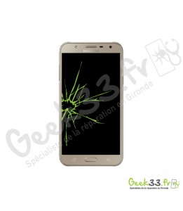 Réparation écran Samsung Galaxy J7 Core J701F vitre + LCD