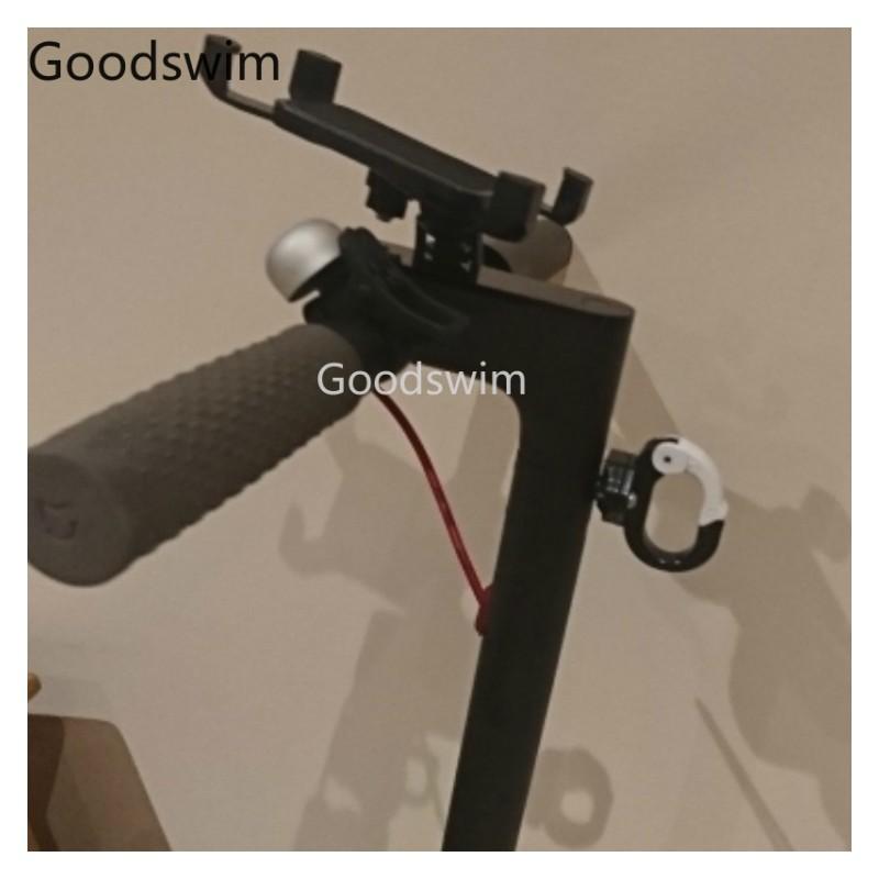 Crochet accessoires pour trotinette électrique Xiaomi Mijia M365 (Rouge)