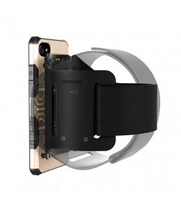 Coque Pour iPhone 8 & 7 multi-fonction brassard, détachable et aimant, Special coque Uber Eat / Delivroo (Or)