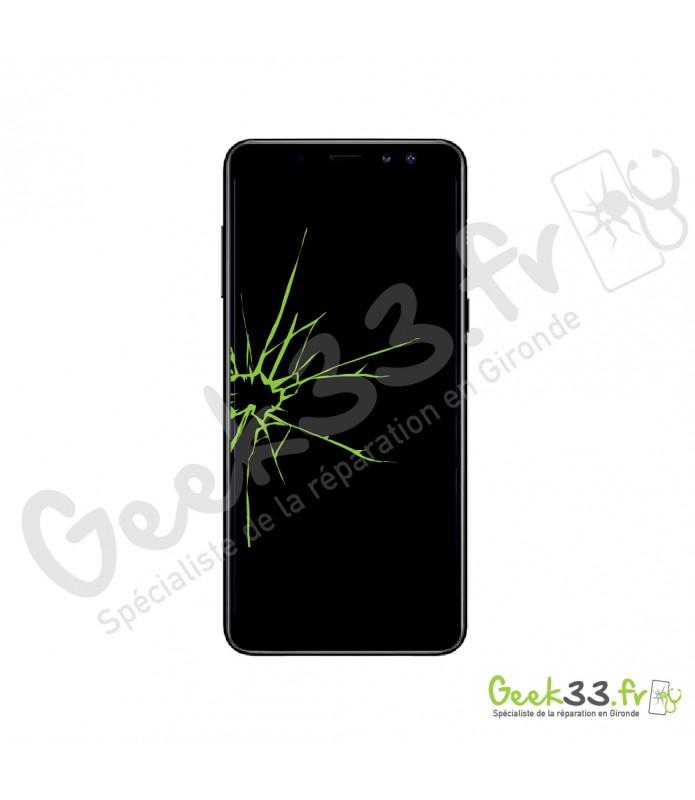 Réparation écran Samsung Galaxy A8 2018 vitre + Amoled