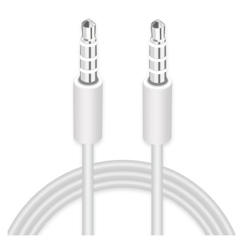 Cable audio multifonctions ROCK 3,5mm Gris