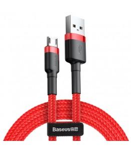 Câble de charge robuste Micro Cafule 2A Baseus, longueur: 1 m Rouge