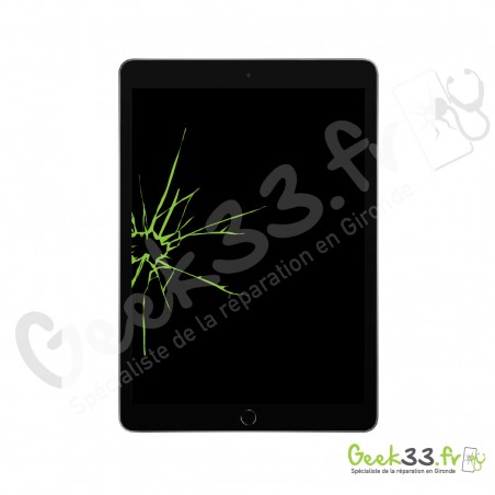 Réparation écran Apple iPad 10,2 (7eme Gen, A2197, A2200, A2198) Vitre