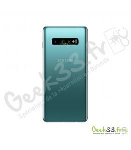 Réparation lentille Samsung Galaxy S10 Plus SM-G975