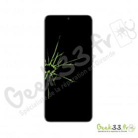 Réparation écran Samsung S20+ G985 Vitre+Amoled